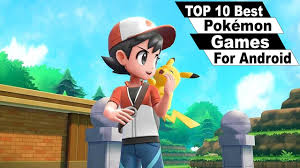 Top 10 Best Pokémon Games For Android 2019 (Offline\Online) - YouTube