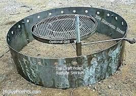 cast iron vs steel fire pit