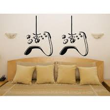 Juststickit Xbox Controller Pair Gamepad Children S Bedroom Decal Wall Art Sticker Picture