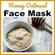honey oatmeal homemade face mask easy