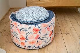 Kid S Furniture Peony Kids Pouf Pouf With Flower Baby Etsy Kids Pouf Baby Girl Room Decor Kids Ottoman