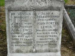Ada Lewis (1889-1966) - Find A Grave Memorial