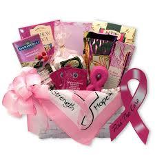 find a cure t cancer gift basket