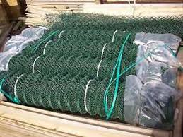 25 M Roll 2 4m Green Chainlink Mesh Security Fencing Ebay