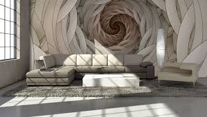 swirls abstract design giant wall