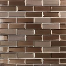 remington bronze bricks glass mosaic