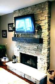 tv above fireplace laxrealtor co