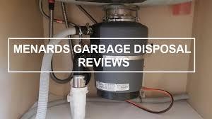 menards garbage disposal reviews 2020