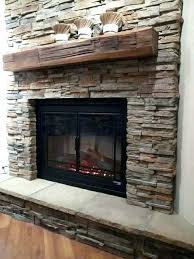 stone mantel shelf floating