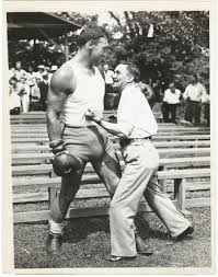 Carnera – PRIMO CARNERA & WILLIE RITCHIE VINTAGE PRESS PHOTO – ITEM  VPPRIMO22 – Heavy Weight Collectibles