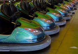 Bumper cars in Magic Planet