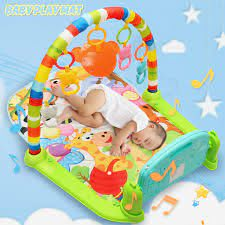 baby gym fitness playmat lay play