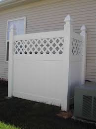 Garbage Enclosure On Side Of House I Want It To Match The Brick Of The House Instead Of The White Privacy Fence Designs Backyard Decor Cozy Patio