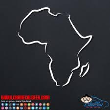 Africa Car Window Decal Sticker Graphic