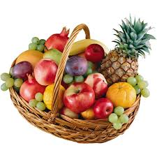 Велика корзинка з фруктами - замовити з доставкою по Україні
