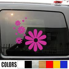 Flowers Flower Power Daisy Decal Sticker Car Vinyl Pick Size Color No Bkgrd Die Cut Car Stickers Aliexpress