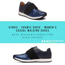 best walking shoes and insoles for high