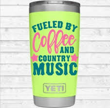 Monogram Quote Vinyl Decal For Your Tumbler Cups Coffee Country Music Quotes 2 70 Picclick