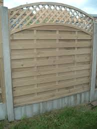 Timber Panels Garden Fencing For Sale Wicklow Picket Fencing