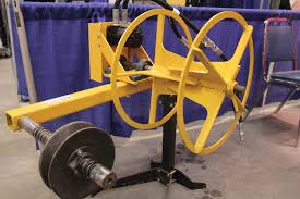 Made In Sask Fence Wire Roller Keeps The Job Simple