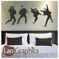 The Beatles Wall Stickers Home Decor Art Decals Laographics