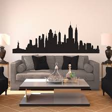 New York Skyline Wall Decal Shop Decals At Dana Decals Room Decor Large Wall Decals Decal Wall Art