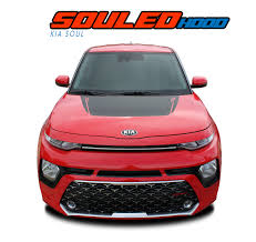 Soul Hood Kia Soul Stripes Kia Soul Decals Soul Vinyl Graphics