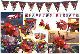 Procos Set De Figuras De Fiesta Big Hero 6 Para Ninos 10108572b