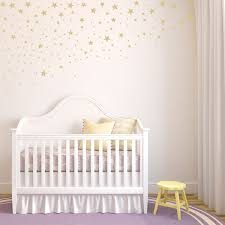 Scattered Falling Stars Set Of 100 Star Wall Decals