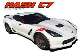 Double Bar Corvette C7 Stripes Corvette C7 Decals Corvette C7 Vinyl Graphics