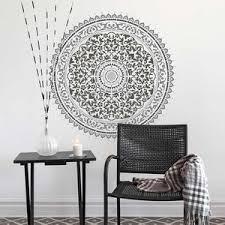 Mandala Stencil Abundance Trendy Easy Diy Wall Stencils For Home Decor Mediterranean Wall Stencils By Cutting Edge Stencils