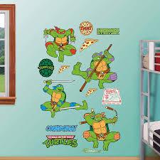 Amazon Com Fathead Wall Decal Real Big Teenage Mutant Ninja Turtle Classic Collection Home Kitchen