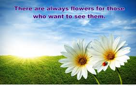 quotes nature flowers