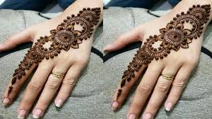 mehndi design 2019 simple and easy back hand