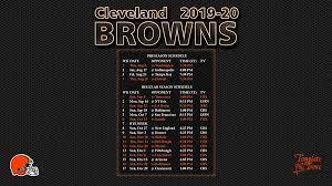 2019 2020 cleveland browns wallpaper