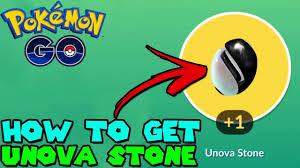 HOW TO GET UNOVA STONE IN POKEMON GO - GEN 5 EVOLUTION ITEM - YouTube