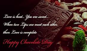 happy chocolate day quotes wishes shayri messages status