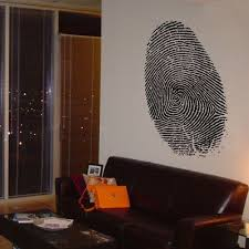Giant Fingerprint Wall Decals Dali Wall Decals Wall Decals Wall Decals And Stickers Wall