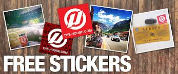 Free Stickers From The House