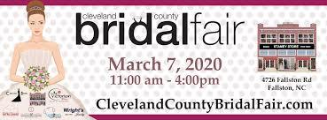cleveland county bridal fair