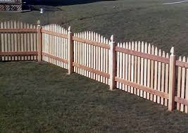 Wood Fencing Pictures