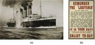 Image result for the German sinking of several U.S. ships had been shifting public opinion toward entering the war,