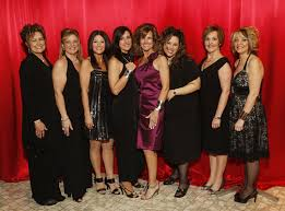 Action committee members, left to right, Adele Ross, Lisa Franchi, Velma  Cocchetto-Picco, Lisa Albano, Linda Ruccolo, Anita Riccio-Spagnuolo, Dinah  Cimino, Linda Santos attend the 2010 Transition to Betterness Gala at the  Ciociaro