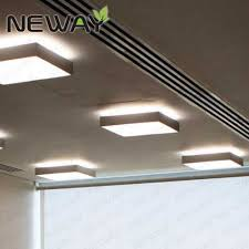 modern square ceiling led lamp up down