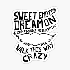 Aerosmith Stickers Redbubble