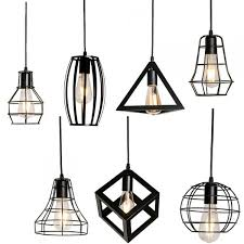 templar black iron pendant lights