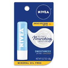 nivea smoothness lip care spf 15 0 17