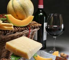 wine chagne bottle gift basket