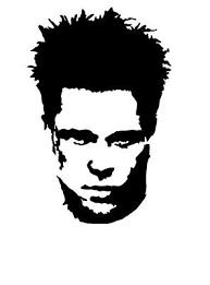 Tyler Durden Fight Club Vinyl Decal Bumper Sticker Brad Pitt Dvd Window Ebay