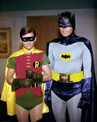 Robin (Burt Ward) and Batman (Adam West) | Batman tv show, Batman ...
